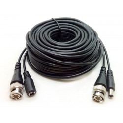 BNC+DC CABLE 15M