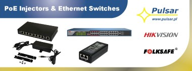 PoE Injectors & Ethernet Switches